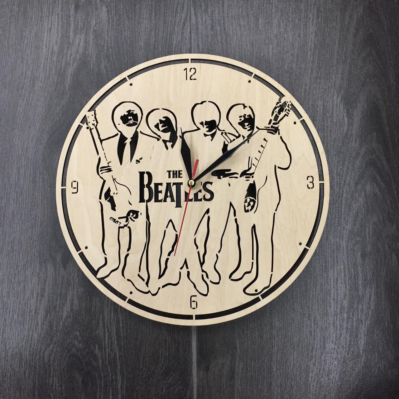 Годинники настінні великі оригінальні 7Arts Епоха The Beatles CL-0050