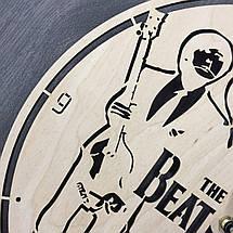 Годинники настінні великі оригінальні 7Arts Епоха The Beatles CL-0050, фото 2