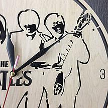 Годинники настінні великі оригінальні 7Arts Епоха The Beatles CL-0050, фото 3