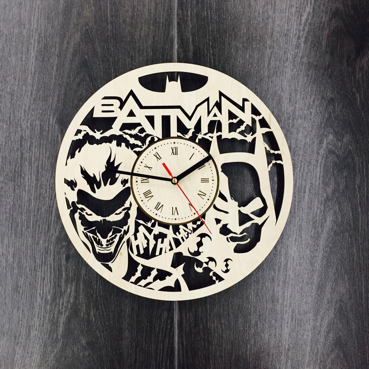 Безшумні настінні годинники 7Arts Batman CL-0051