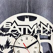 Безшумні настінні годинники 7Arts Batman CL-0051, фото 3