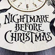 Годинники настінні великі 7Arts Кошмар перед Різдвом CL-0053, фото 2