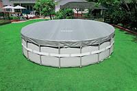 Тент для каркасного бассейна 28041 Intex диаметром 549 см