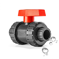 Кран шаровый Aquaviva диаметр 75 мм, фото 1