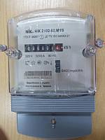 Электросчетчик  однофазный  НИК 2102-02 М1В