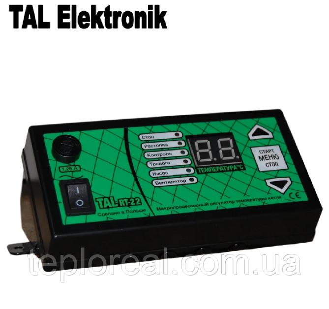 Автоматика для твердотопливных котлов TAL RT-22 (без датчика дымовых газов)
