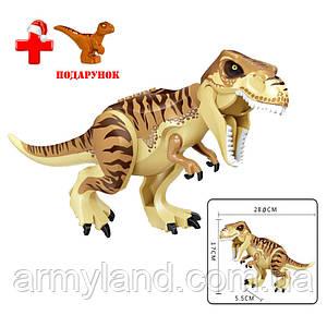 Динозавр Теранозавр Юрский период Конструктор, аналог Лего