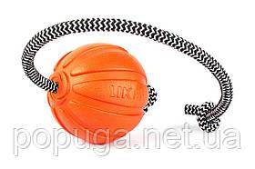 Liker Cord 7 - мячик со шнуром для собак мелких и средних пород