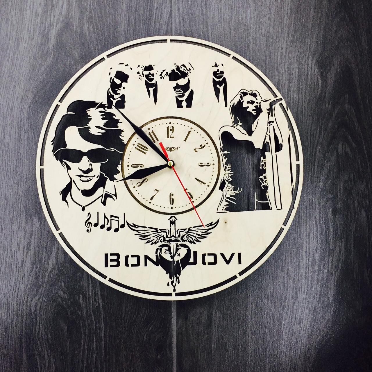Часы настенные 7Arts Bon Jovi CL-0055