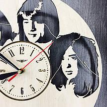 Арт-часы настенные деревянные круглые 7Arts Led Zeppelin CL-0061, фото 2