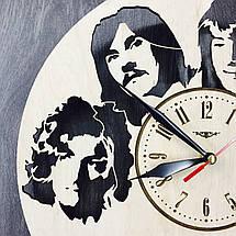 Арт-часы настенные деревянные круглые 7Arts Led Zeppelin CL-0061, фото 3