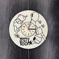 Детские деревянные часы на стену 7Arts Винни Пух CL-0072