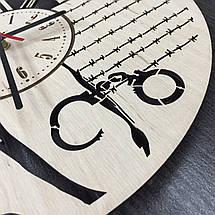 Настенные часы-картинка 7Arts Побег из тюрьмы CL-0099, фото 2