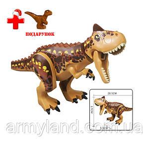 Динозавр Теранозавр Рекс Конструктор, аналог Лего