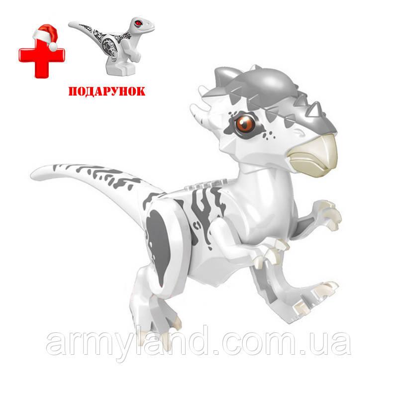 Динозавр Индоминос Архаического типа Конструктор, аналог Лего