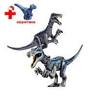 Динозавр Барионикс Конструктор, аналог Лего