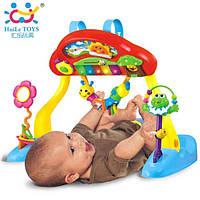 Игровой развивающий центр Huile Toys Фитнесс-пианино 789