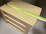 Комод мини 26х19х20 см / 3 секции / радуга, фото 6