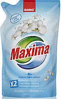 Sano Maxima Bio гигиенический смягчитель белья екопак 1 л