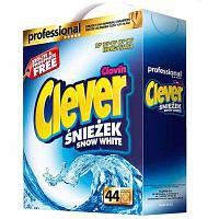 Стиральный порошок для белых тканей Clever 3.3 кг картон