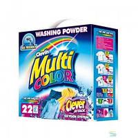 Multicolor стиральный порошок для цветных тканей 2.2 кг картон
