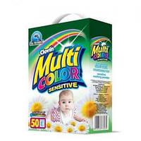 Multicolor Sensitive cтиральный порошок 5 кг картон