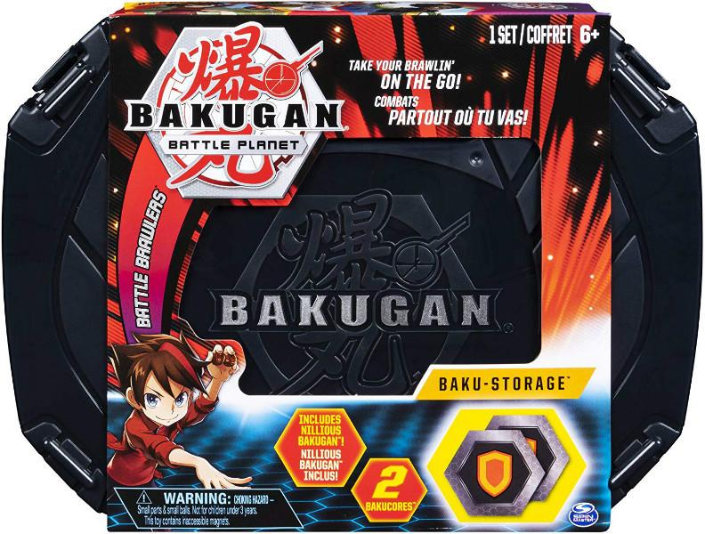 Bakugan Battle Planet Бакуган кейс для хранения бакуганов черный 20104004 Baku-Storage Case