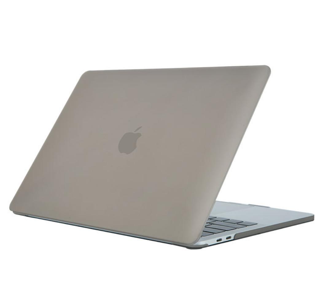 Чехол пластиковая накладка для макбука Apple Macbook PRO Retina 15,4'' Touch Bar  (A1707/A1990) - серый