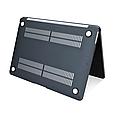 Чехол пластиковая накладка для макбука Apple Macbook PRO Retina 15,4'' Touch Bar  (A1707/A1990) - серый, фото 4