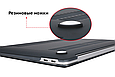 Чехол пластиковая накладка для макбука Apple Macbook PRO Retina 15,4'' Touch Bar  (A1707/A1990) - серый, фото 5