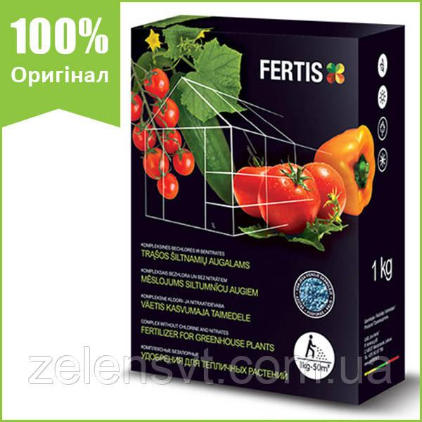 Добриво Fertis для теплиць (1 кг), NPK 12-8-16 + Me, Литва