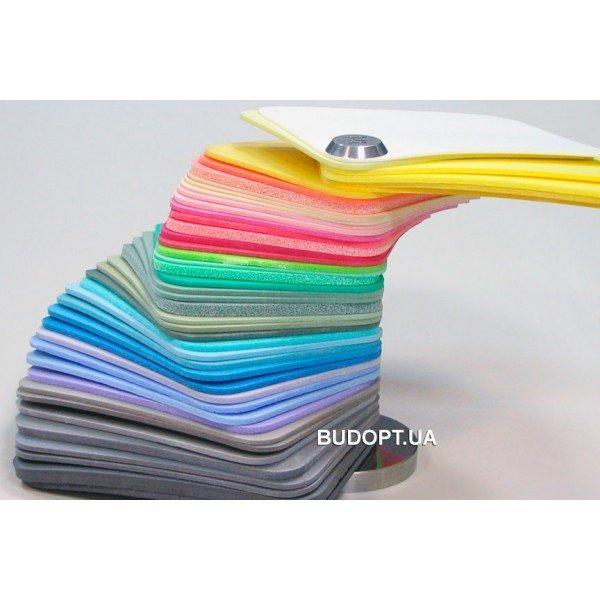 Изолон цветной для цветов и декора (фоамиран синий, красный, зеленый, жёлтый и др.) 3 мм ППЭ 3003 (isolon 500), фото 1