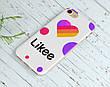 Силиконовый чехол для Apple Iphone 5_5s Likee (Лайк) (4002-3321), фото 5