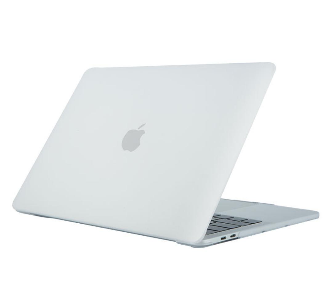 Чехол пластиковая накладка для макбука Apple Macbook PRO Retina 15,4'' Touch Bar  (A1707/A1990) - белый