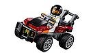 """Конструктор Bela 11208 (Аналог Lego City 60208) """"Воздушная полиция: арест парашютиста"""" 242 детали, фото 6"""