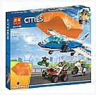 """Конструктор Bela 11208 (Аналог Lego City 60208) """"Воздушная полиция: арест парашютиста"""" 242 детали, фото 7"""
