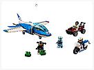 """Конструктор Bela 11208 (Аналог Lego City 60208) """"Воздушная полиция: арест парашютиста"""" 242 детали, фото 8"""