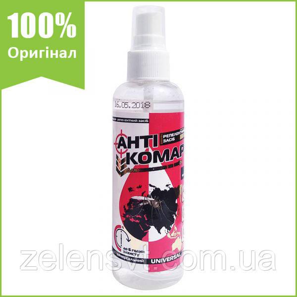 """Спрей від комарів, кліщів мошок """"АнтіКомар"""" (120 мл) від Agromaxi, Україна"""