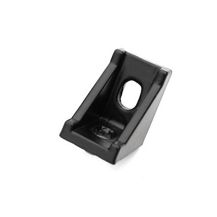 Кутовий з'єднувач 20x28 чорний (угловой соединитель)