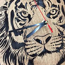 Годинники з дерева на стіну 7Arts Тигр CL-0119, фото 3