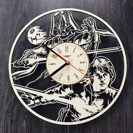 Концептуальные настенные деревянные часы  7Arts Звездные Войны CL-0124, фото 2