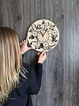 Дерев'яні годинник на стіну 7Arts Соковиті фрукти CL-0131, фото 3