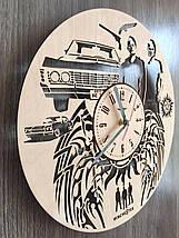 Дизайнерські дерев'яні годинник 7Arts Сверхьестественное CL-0138, фото 3