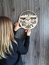 Дизайнерські годинники на стіну 7Arts Сіетл, Вашингтон CL-0143, фото 3