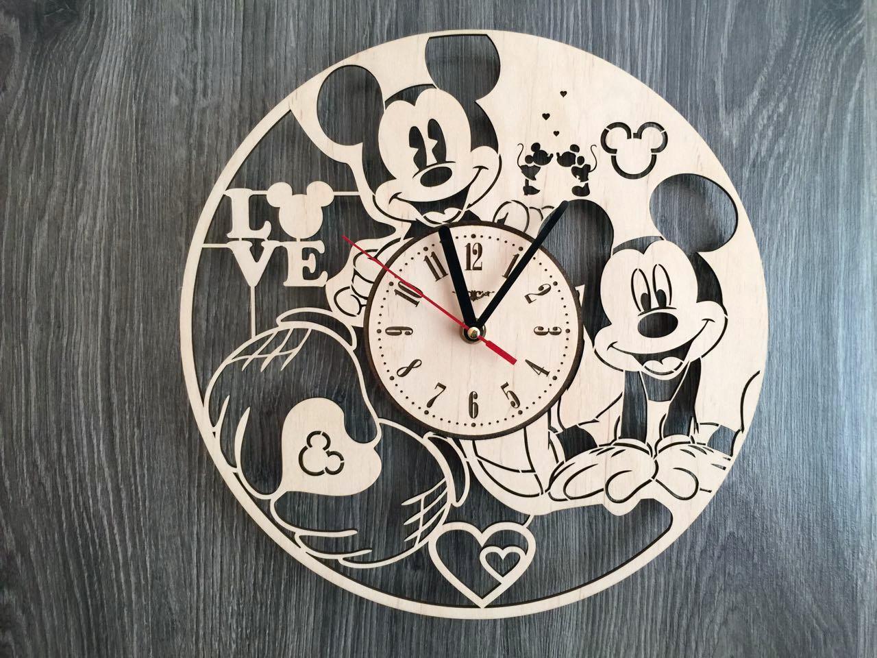Детские часы на стену 7Arts Микки Маус CL-0151