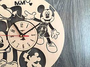 Часы на стену в детскую комнату 7Arts Веселый Микки Маус CL-0153, фото 2