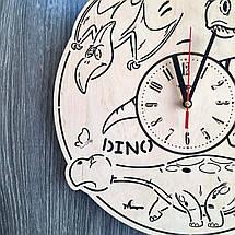 Часы детские из дерева 7Arts Эра динозавров CL-0157, фото 3