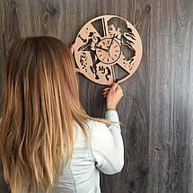 Концептуальні годинник з дерева на стіну 7Arts Легендарний Майкл Джексон CL-0166, фото 3