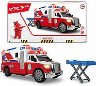 Детская машина скорой помощи Dickie Toys со светом и звуком машинка для мальчика 3308381, фото 1