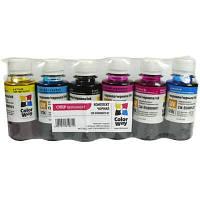 Чорнило ColorWay Epson L-800/810/850 (6x100мл) BK/С/M/LС/LM/Y (CW-EW810SET01)